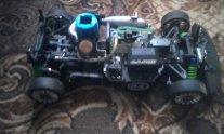 Машина на радиоуправлении с ДВС, пультом, на специальном топливе